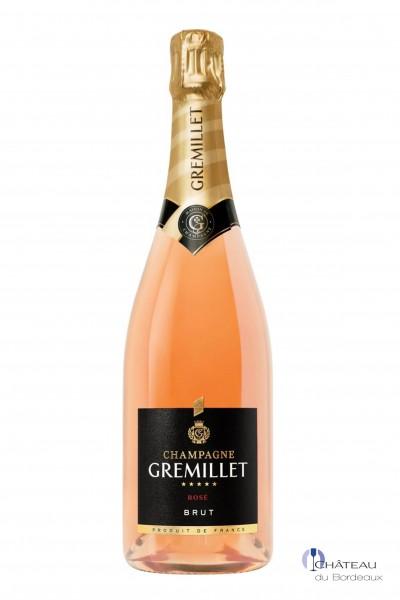 Champagne Gremillet Brut Rosé d'Assemblage
