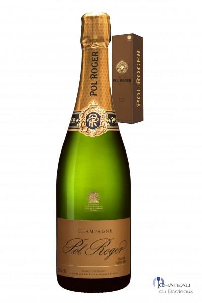 Pol Roger Rich Demi Sec Champagner 1er Etui
