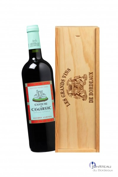 2014 Château Camarsac Vieilles Vignes Magnum 1,5L Holzkiste