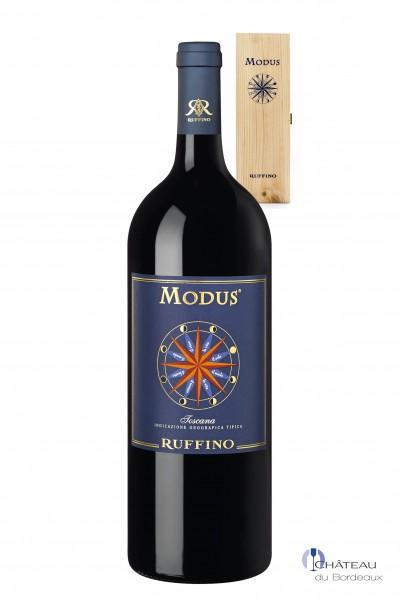 2012 Ruffino Modus Magnum (1,5 L) 1er Holzkiste