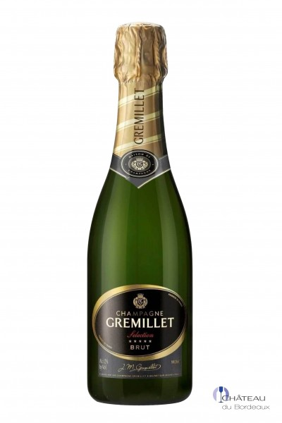 Champagne Gremillet Brut Sélection (0,375 L)
