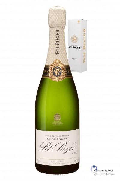 Pol Roger Champagner Brut Réserve 1er Etui