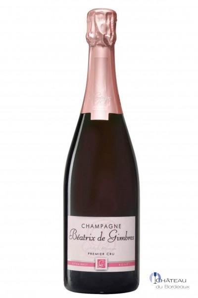 Béatrix de Gimbres Extra-Brut Rosé Premier Cru