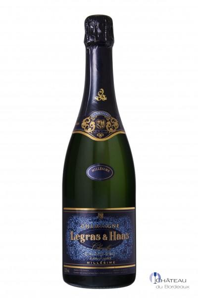 2011 Legras & Haas Blanc de Blancs Grand Cru