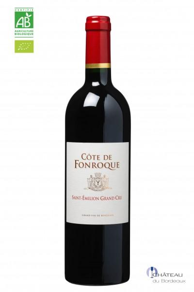 2014 Côte de Fonroque Grand Cru Vin Bio
